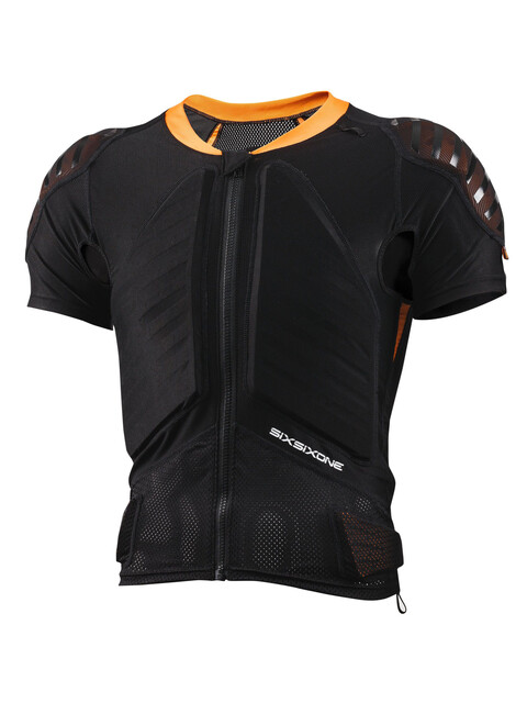 SixSixOne EVO Compression Jacket kurzarm black